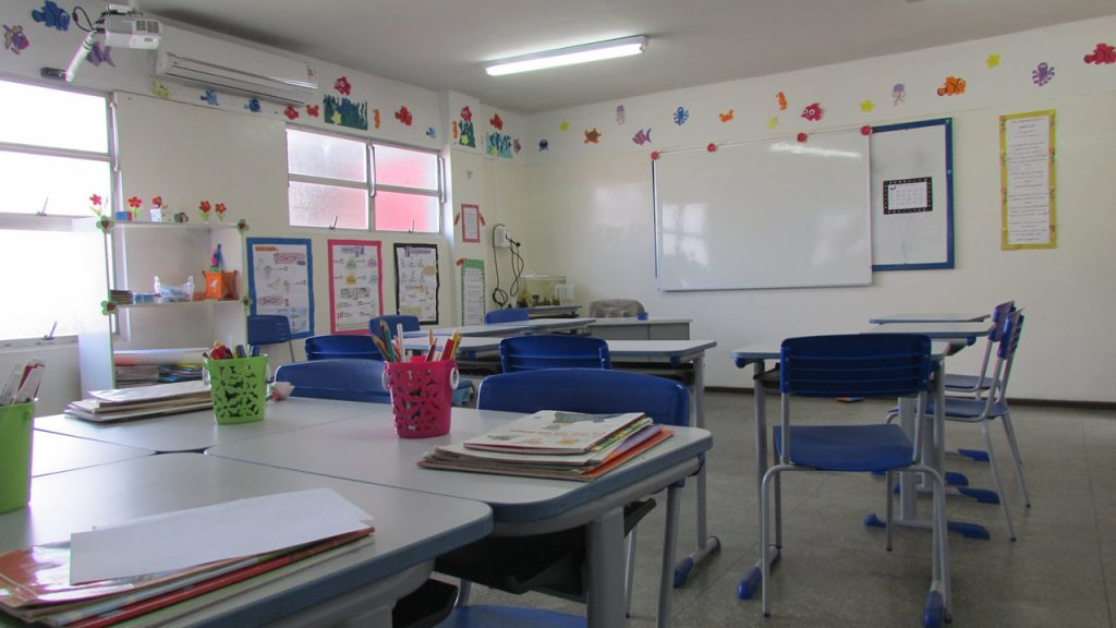 Sala do Ensino Fundamental I