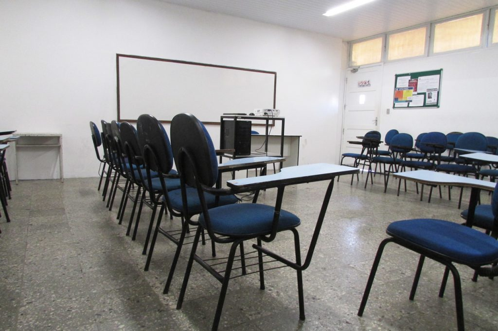 Sala do Ensino Fundamental II